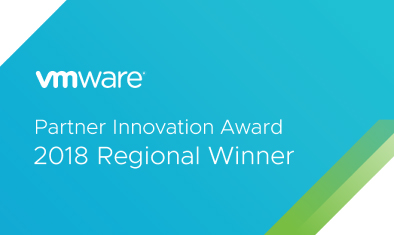 「VMware 2018 Regional Partner Innovation Awards」を受賞しました